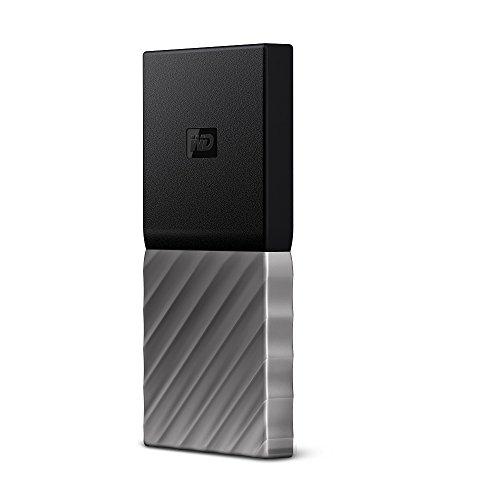 41Ddo7CK%2BGL - [amazon] Western Digital My Passport SSD 256GB mit USB-C für nur 98,51€ statt 108€ *PRIME*