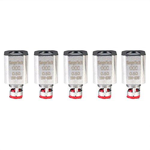 Kangertech OCC Ersatzverdampferköpfe für Subtank/TopTank, 0,5-1,5 Ohm