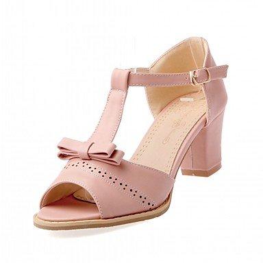 zhENfu Donna Sandali Estate Autunno Club scarpe scarpe formali Comfort Novità PU similpelle Outdoor Office & carriera parte & abito da sera Casual Blushing Pink