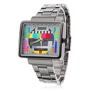 belles-montres-montre-motif-de-television-boitier-carre-de-bracelet-a-quartz-de-bande-en-acier-pour-