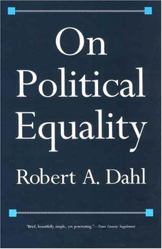 On Political Equality por Robert A. Dahl