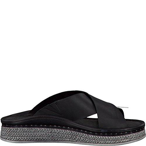 Tamaris Schuhe 1-1-27207-28 Bequeme Damen Pantolette, Sandalen, Sommerschuhe für modebewusste Frau, - 2