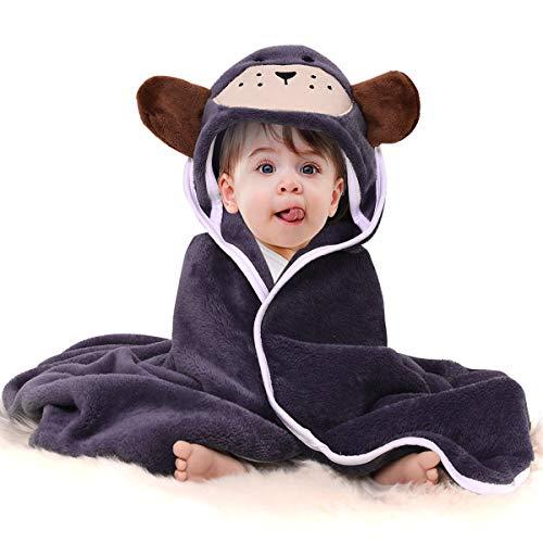 tuch Flanell Waschlappen Baddecke, Premium saugfähigen weichen Kleinkind niedlichen Tier Kapuzen Badetuch Baby Dusche Geschenk / 31