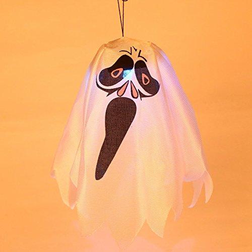 Gladle Halloween Kürbis Lichter Halloween Dekoration Hängende Geist Lampe (Zufälliger (Dekoration Geist Hängende Im Freien)