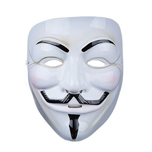 Samgoo Halloween V wie for Vendetta Maske Anonymous Karneval Fasching Occupy Party (03)