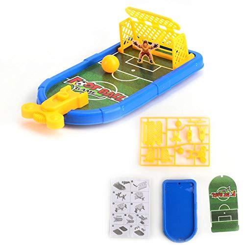 Yanten Finger Soccer Game Mini Desktop Finger Catapult Football Field Parent-Child Toys (Football)