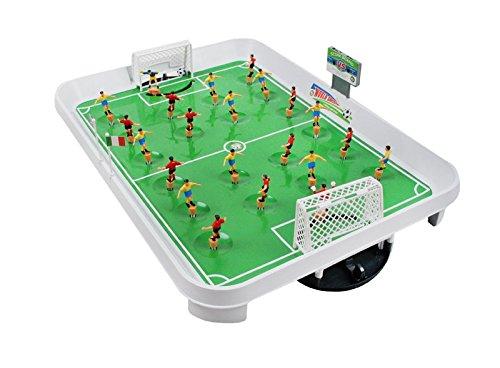 Mini Kicker Fussballtisch Fussballspiel Kickertisch Fußball 22spieler #1499