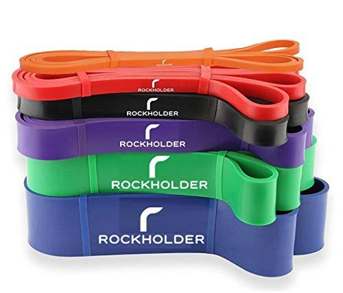 WICKET Widerstandsbänder zum Klimmzügen und für Yoga, Premium Latex, langlebig, für Workout, Stretch, Crossfit Bands für Männer und Frauen