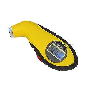 Digital de Neumáticos Eléctricos Manómetro con Pantalla LCD Portátil 4 Unidades de Medición de Neumáticos de Coche de…