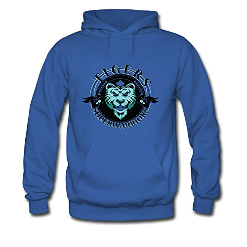 Super Hero Tiger Warrior Gifts Men Adult Hoodies (Cross Sweatshirt Adult)
