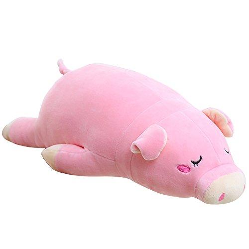 in Puppen Rosa Gefüllt Piggy Super Soft für Baby Kids Spielzeug 46 cm (Schwein Plüsch)