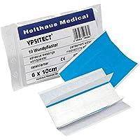 Holthaus Medical YPSITECT Pflaster Pflasterstreifen Wundpflaster blau, wasserfest, detectable, 10x 6x10cm preisvergleich bei billige-tabletten.eu