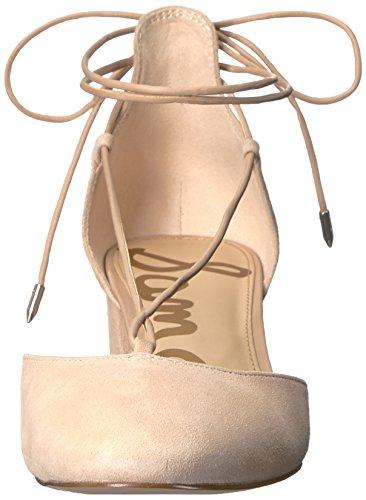 Sam Edelman Womens Loretta Dress Pump Natural Naked Suede