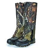 JOEPET Camo Snow Legging Ghette Impermeabile Durevole Outdoor Escursionismo Camminare Caccia Trekking Leg Cover Traspirante Anti-morso Alte Ghette (1 Paia)