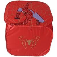 Preisvergleich für GMMH Design 9 Spielzeugbox Rot Aufbewahrungsbox Spielzeugtruhe Aufbewahrungstonne Spielzeugkiste