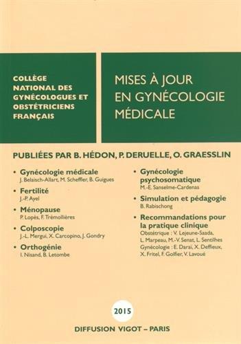 Mises  jour en gyncologie mdicale