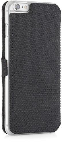 """StilGut Étui type livre pour Apple iPhone 6, Cuir, rot - Nappa - mit Clip, iPhone 6 (4.7"""") Noir - avec clip"""