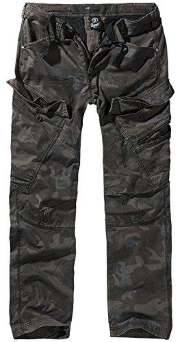 Brandit Adven Slim Fit Trousers - Darkcamo S