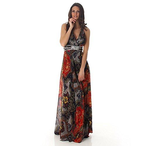 Fashion -  Vestito  - Donna Rosso