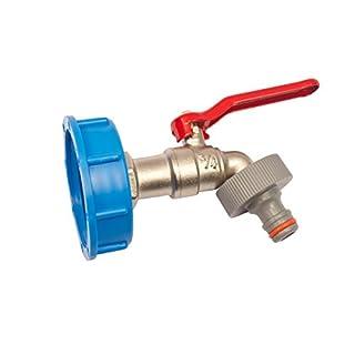 Quarzflex® IBC Adapter mit Auslaufhahn Klick