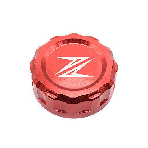 Z300 Z650 Z900 Z800 Z750 Z1000 Motorrad Bremse Hintere Bremsflüssigkeitsbehälter Kappe Für Kawasaki Z300 2016 Z650 2017 2018 Z900 2017 2018 Z800 2013-2017 Z750 R 2006-2010 Z1000 2007-2016 - Rote