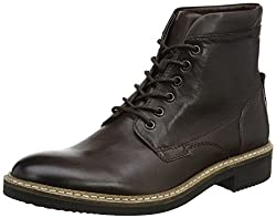 Clarks Mens Blackford Lace-Up Ankle Boots