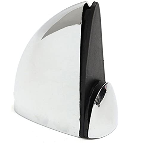Supporto per mensole in vetro, 4 X TOOGOO (R)-Mensola in