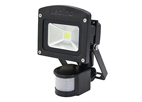 Ledino LED Außenwandstrahler Ledino LED-Flutlichtstrahler 10W | LEDs fest verbaut 10W 900lm tageslichtweiß | LED-FLG10IRBcw