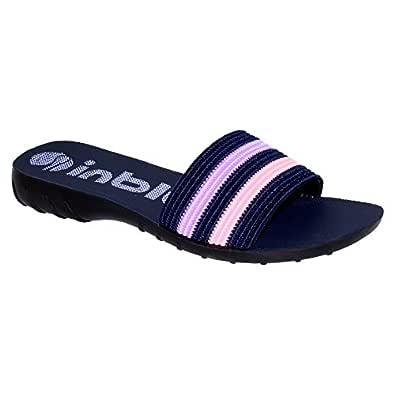 inblu Blue & Purple Flipflop for Women's