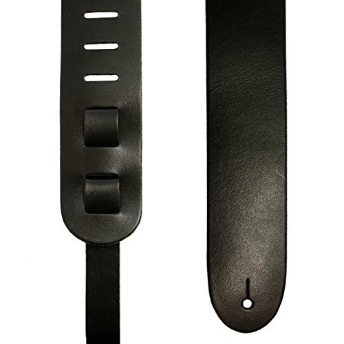 imp-black-leather-guitar-strap