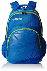 American Tourister 21 Lts Ebony Blue Casual Backpack (Ebony Backpack 02_8901836132724)