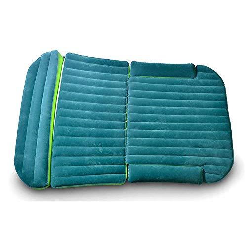 GJLR Car Bed HUO Faltendes Luft-Bett Doppelseitiges Beflockendes Aufblasbares Matratzenbett Für Auto SUV-Hauptlager Im Freien