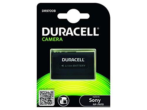 Duracell DR9700B Li-Ion Camcorder Ersetzt Akku für NP-FH60 (Camcorder Duracell)