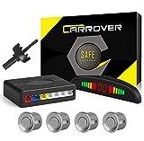 CAR ROVER Car Capteur de Stationnement Auto Système Stationnement Affichage LED Sonore avec 4 Capteurs Noir