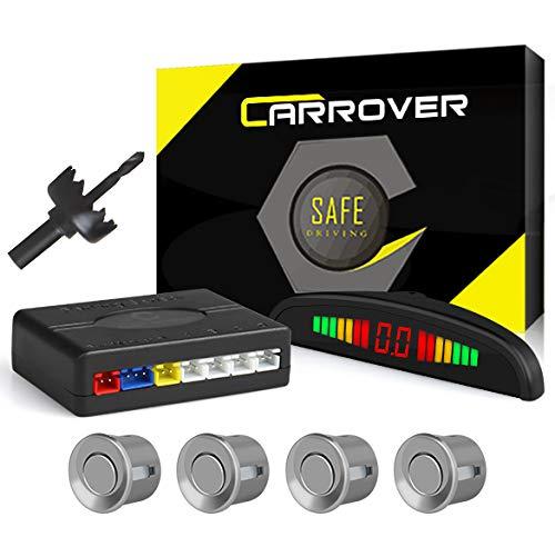 Car Rover® Sensor di Parcheggio radar di sostegno d'inversione con Led Display suono di allarme + 4* 22mm sensori d'argento