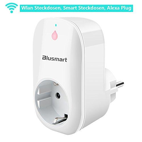 Prises, Smart prises, prise intelligente WiFi WLAN (Fonctionne avec Amazon Alexa [Echo, Echo Dot] et Google Home, avec App Contrôle partout et à tout moment) Alexa Plug