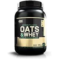 Optimum Nutrition Natural Oats&Whey Bebida de Avena y proteína Whey en Polvo de Sabor Vainilla -