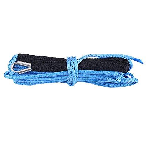 Seil für Verricello, Seil synthetisch Seil Winch Rope 6600lbs zum Trainieren blau