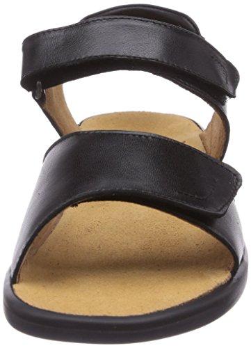 Ganter - SONNICA, Weite E, sandali  da donna Nero(Schwarz (schwarz 0100))