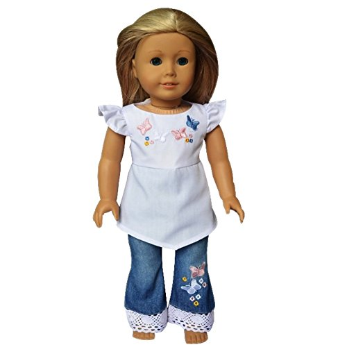 ebuddy-2pcs-set-embroider-t-shirt-jeans-doll-clothes-for-18-inch-american-girl