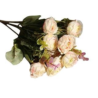 AUSVERKAUF. siconght 10Köpfe Künstliche Blumen Fake Blumenstrauß Rose Floral Hochzeit Home Party Büro Shop Decor