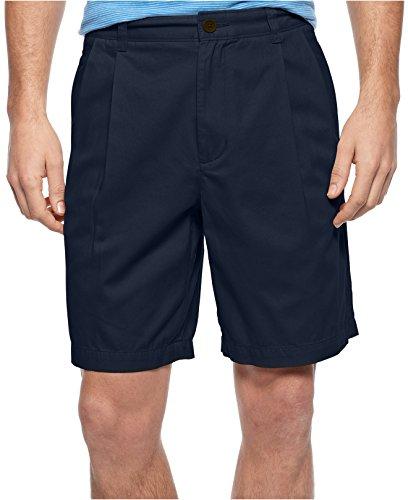 Club Room Shorts, Core Twill Doppelfalten 22,9 cm Shorts 32 Officer Navy -