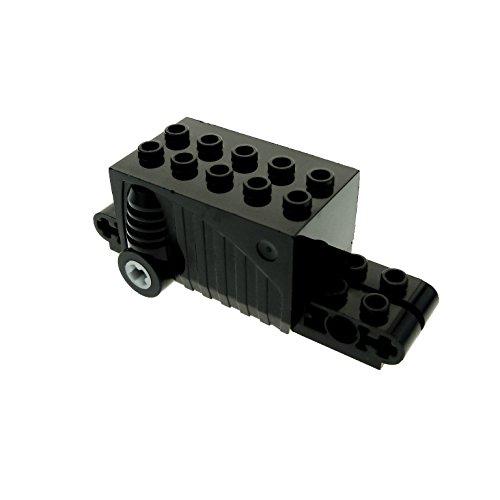 Bausteine gebraucht 1 x Lego Technik Rückzieh Motor schwarz 9x4x2 2/3 Aufziehmotor Motorrad Auto Pull Back Set 8142 8647 8381 4212899 47715c01 (Motor Pull Back Lego)