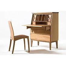 sixay Secreter Emily roble macizo de escritorio de madera