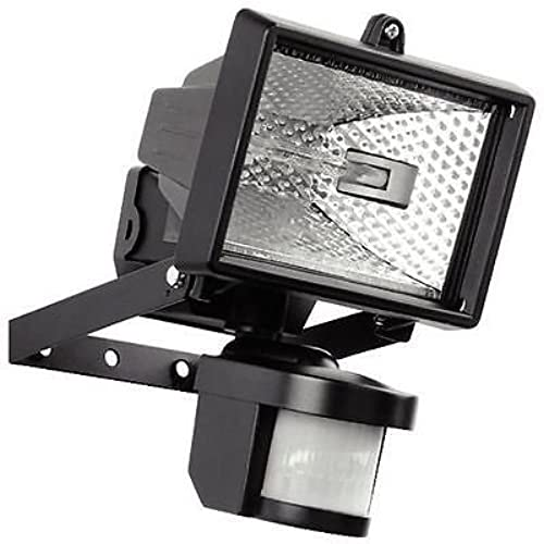 Exterior security lights amazon hillington 400w motion pir sensor halogen floodlight security garden outdoor light provided with a 400w c class halogen bulb which is shielded by tempered aloadofball Gallery