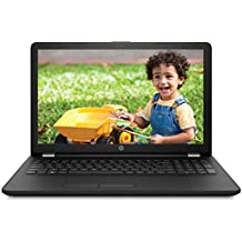 HP 15-BS542TU 2017 15.6-inch Laptop (6th Gen Intel Core i3-6006U/4GB/1TB/DOS/Integrated Graphics), Sparkling Black