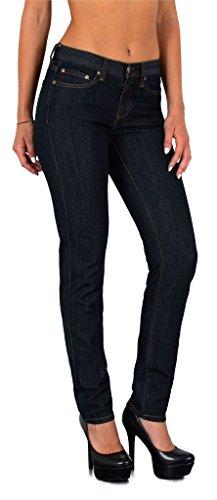 by-tex Damen High Waist Jeans Hose Damen Jeanshose Skinny Hochbund Hose bis Übergröße 48, 50, 52,54 # S200 (Plus Größe Hosen-jeans)