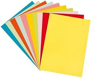 Papier Dessin Couleur 160g 24x32 Assorti - Paquet De 100 [Jouet]
