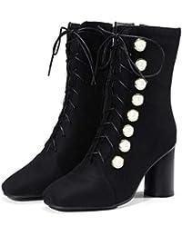 Ante es Amazon Y Zapatos Zapatos Mujer 48 Para rqrd65R