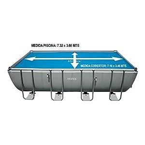 Intex Mac Due 29027 - Telo Termico Rettangolare, 732x366 cm